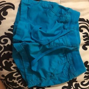 Turquoise shorts for kids (girl)